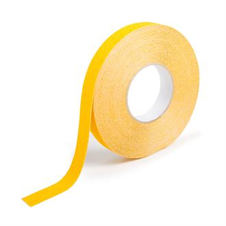 Antislip tape extra grof geel B=25mm L=18,3m