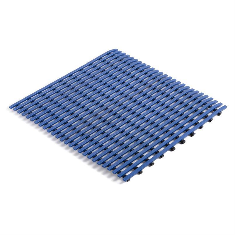 Corfu roostermat blauw 1000mm