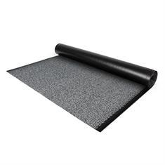 Droogloopmat op maat 90cm grijs