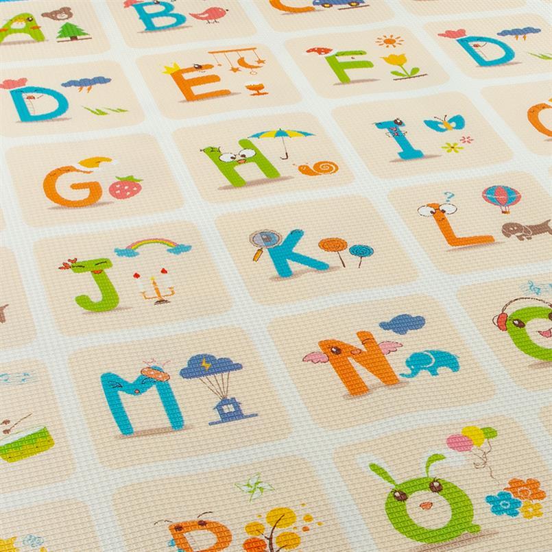 EVA FOAM speelmat 2-zijdig letters/letters 1800x2000x10mm
