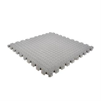 EVA FOAM tegel checker grijs 620x620x25mm