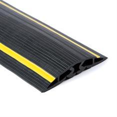 Kabelgoot 5 kanalen zwart/geel LxBxH=9000x102x17mm