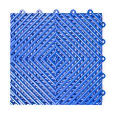 Open kliktegel hard blauw 300x300x15mm