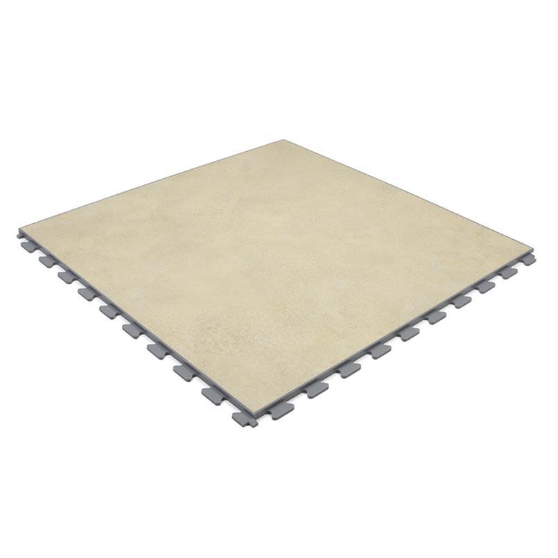 PVC kliktegel design Sahara - creme 450x450x7,8mm