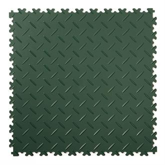 PVC kliktegel diamant groen 500x500x4mm