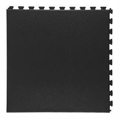 PVC kliktegel eclips zwart 458x458x5mm