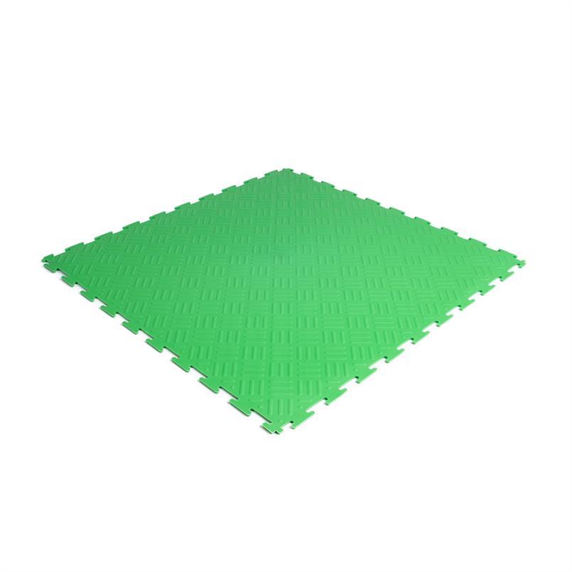 PVC kliktegel traanplaat groen 530x530x4mm