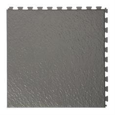 PVC kliktegels leisteen donkergrijs 458x458x5mm