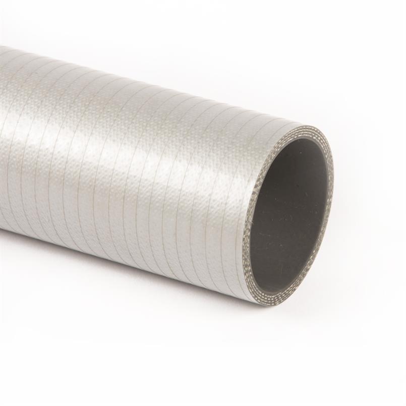 Siliconen slang grijs metallic DN=19mm L=1000mm